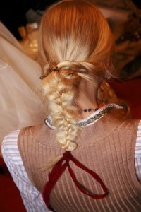 Модные тренды осень 2011: коса