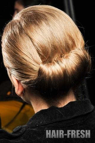 Тренды причёсок 2011-2012