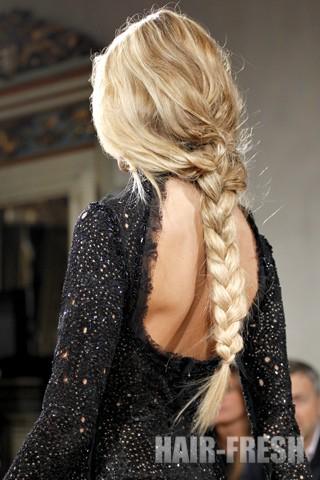 прическа длинный волос