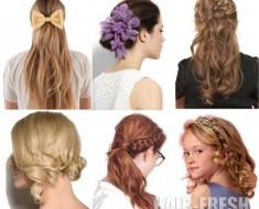 Короткие прически для девочек 2012