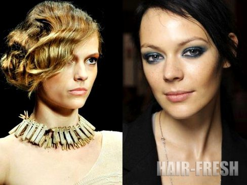Прически на короткие волосы 2012