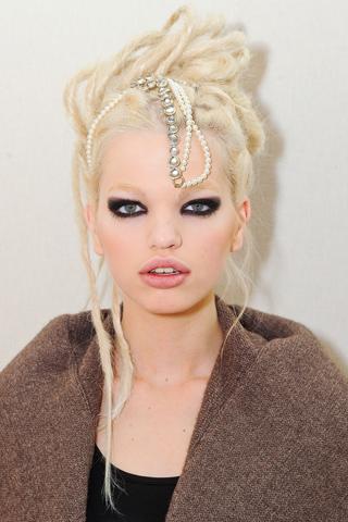 Модные прически Chanel 2012 (6)