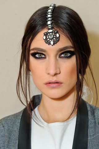 Модные прически Chanel 2012 (4)