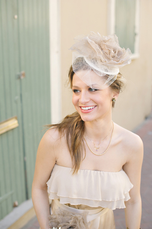 Свадебные украшения для волос 2012