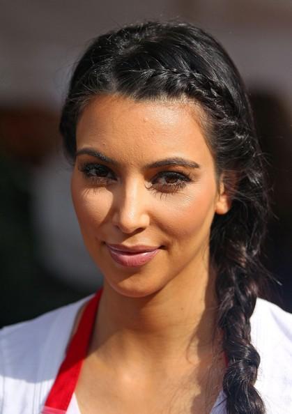 Прически Ким Кардашьян