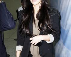 Прически Ким Кардашьян 2012