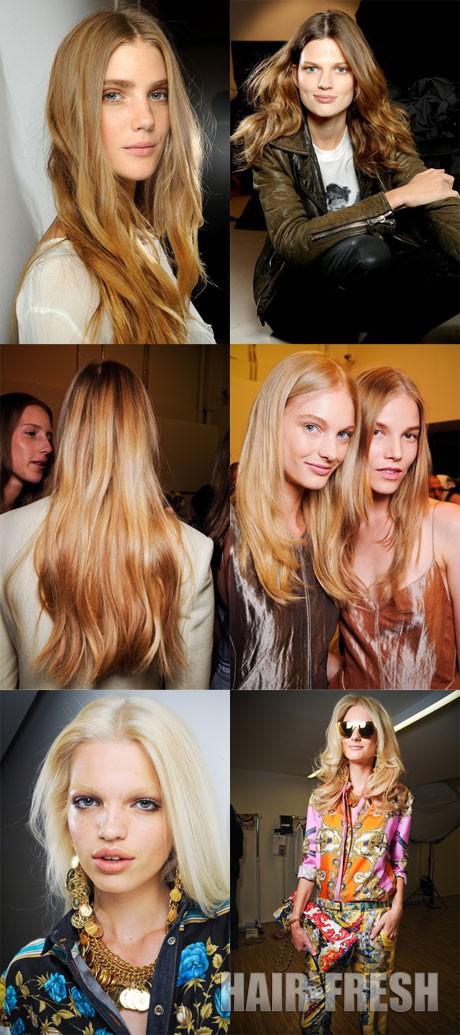 Длинные волосы 2012