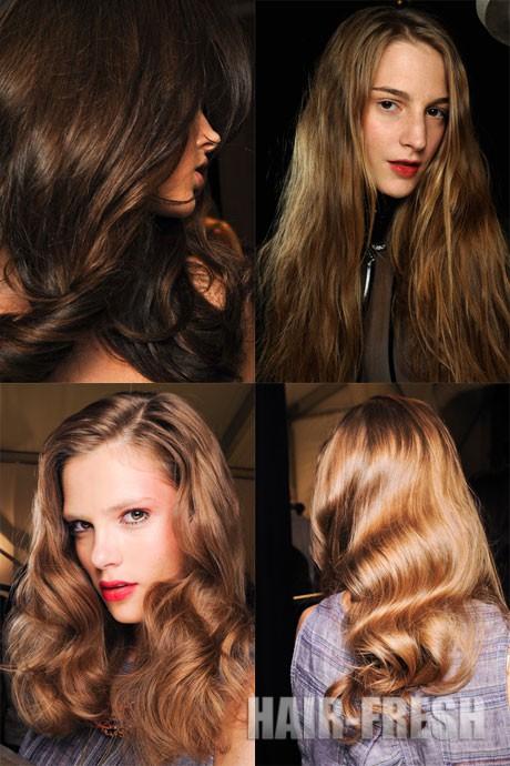 Стрижки на длинные волосы 2012