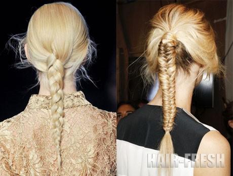 Прически косички на длинные волосы
