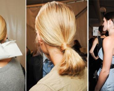Укладки на длинные волосы 2012
