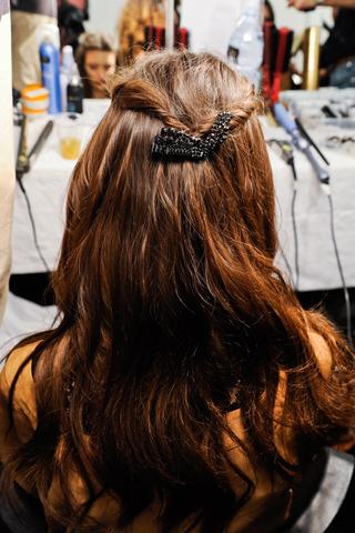 Модные прически Gucci: осень-зима 2012-2013 (6)