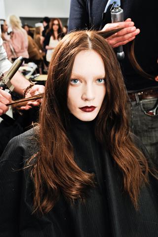 Модные прически Gucci: осень-зима 2012-2013 (5)