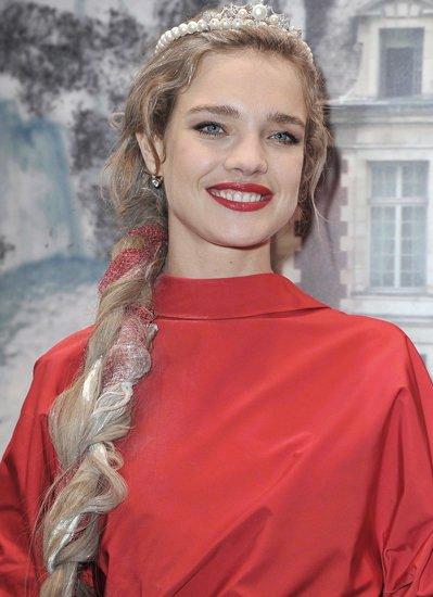 Прическа русская коса