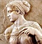 Греческая прическа с повязкой
