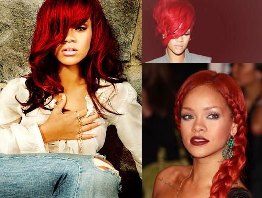 Прически для рыжего цвета волос