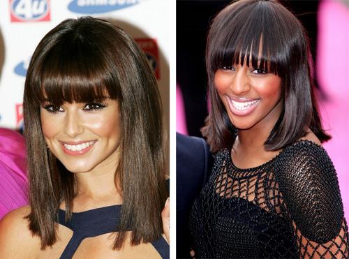 Стрижки волос средней длины 2013