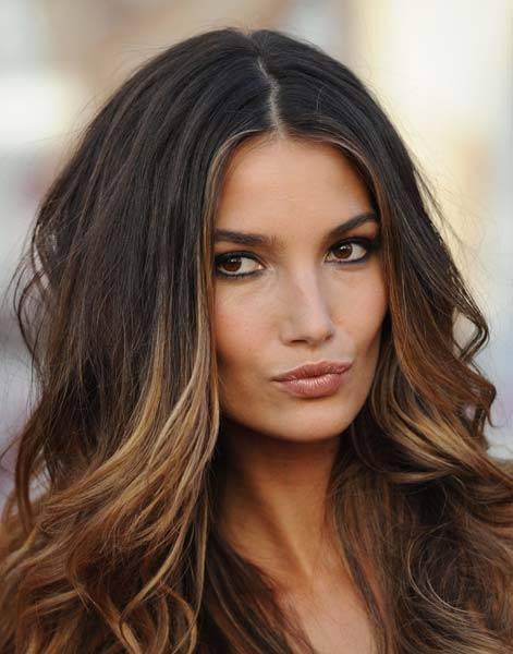 Деграде на волосах: эффект градиента