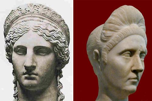 Римская прическа