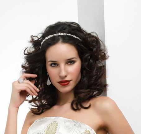 Свадебные прически на волосы средней длины