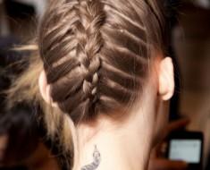 Домашние прически для средних волос