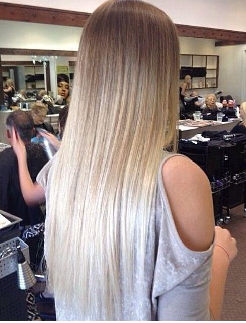 Молочный цвет волос