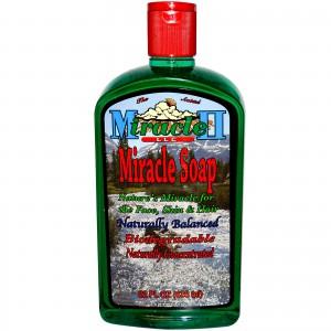 Натуральное мыло для лица, кожи и волос Miracle II Soap
