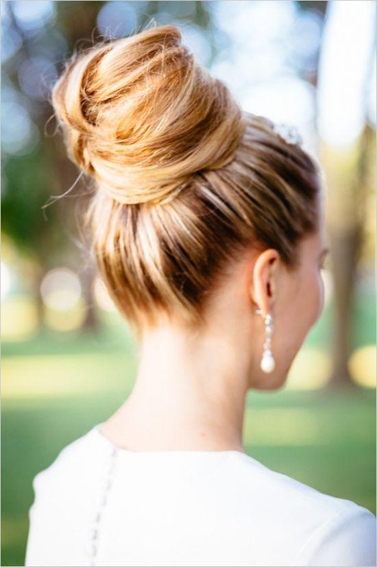 Праздничные прически на средние волосы (4)