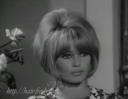 Прически 60-х годов