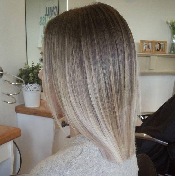 Серые волосы: оттенки
