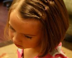 Прически для девочек 5 лет