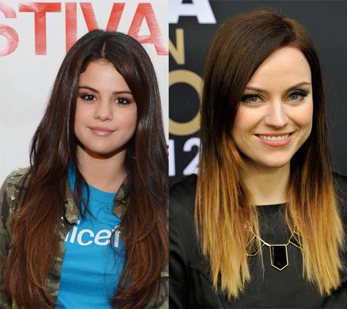 Волосы двух цветов: колорирование и ombre hair