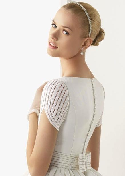 Свадебный ободок для волос