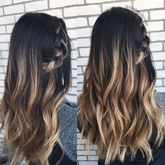 Стрижка лесенка на средние волосы, фото (11)