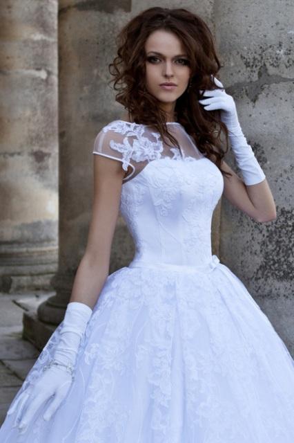 Свадебные локоны и кудри