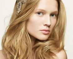 Греческий ободок для волос