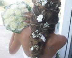 Свадебные прически видео