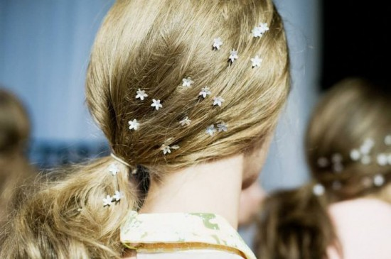 Новогодние украшения для волос