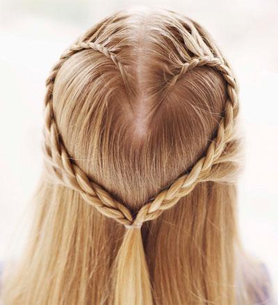Плетение косичек для девочек