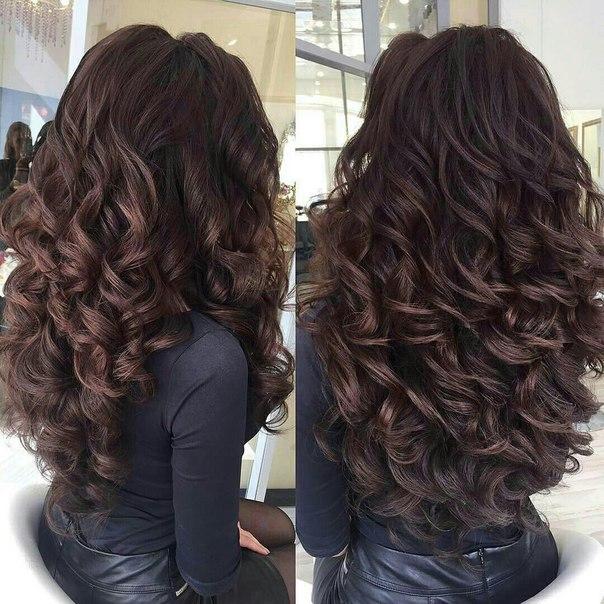 Черный цвет волос