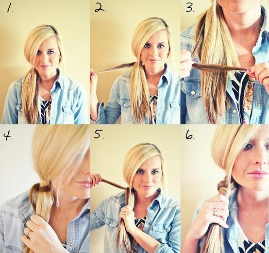 Косое плетение волос (15)