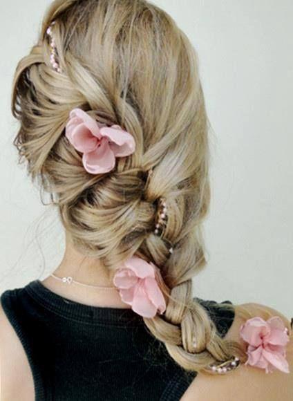 Косое плетение волос (11)