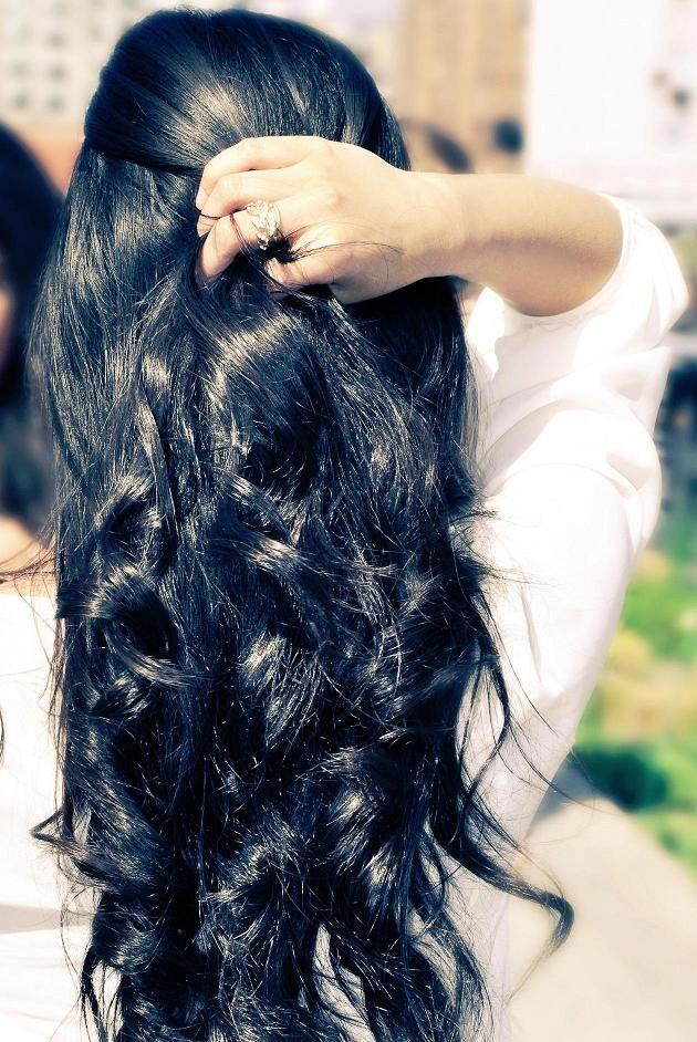 Черный цвет волос (2)