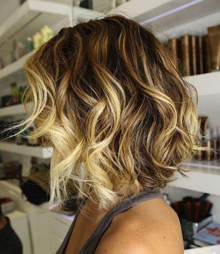 Омбре на волосах (10)