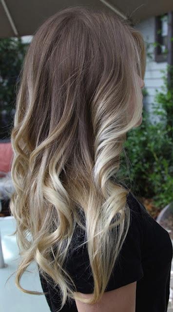 Омбре на волосах (9)