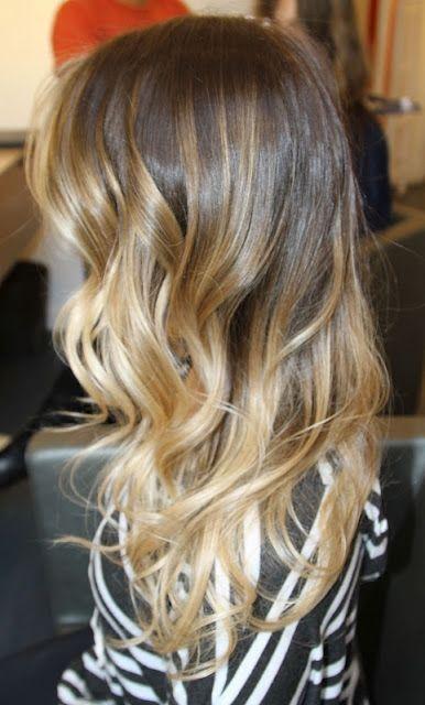 Омбре на волосах (7)