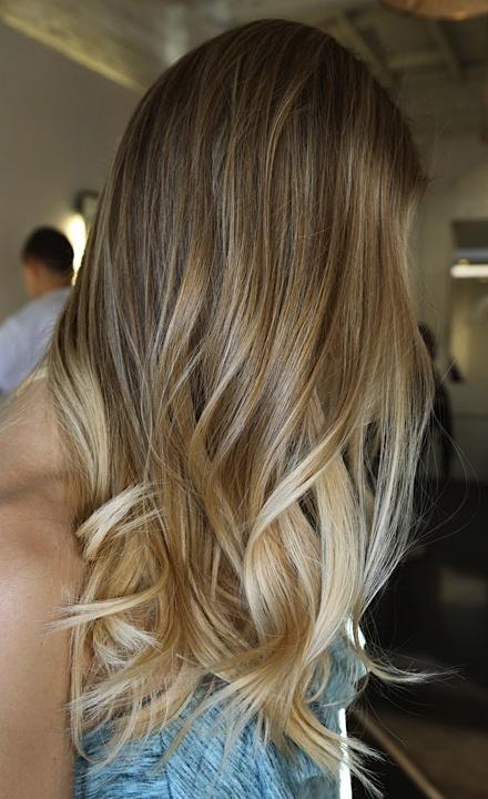 Омбре на волосах (6)