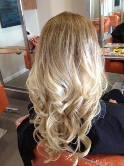 Омбре на волосах (5)