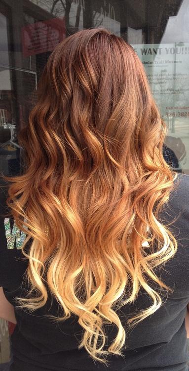 Омбре на волосах (4)
