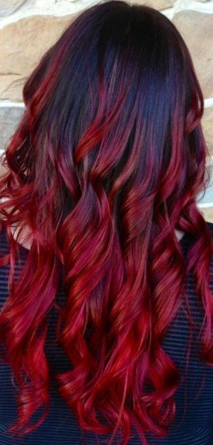 Омбре на волосах (3)