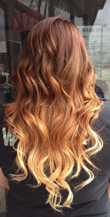 Омбре на волосах (2)